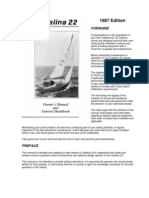Aloha Owners Manual | Varnish | Rigging