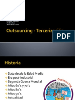 Outsourcing - Tercerización