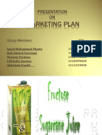 Presentation on Marketing Plan
