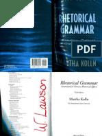 84874581 Rhetorical Grammar Martha Kolln