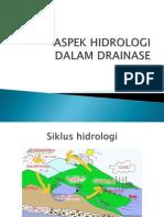 Aspek Hidrologi Dalam Drainase