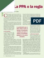 IMF Basics - La PPA o la regla
