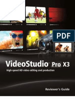 Corel Videostudio Pro x3 Reviewers Guide