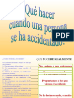 Como Actuar en Accidente
