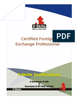 Certified Foreign Exchange Professional Brochure