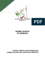 Norma Tecnica Cnem 001 (1)