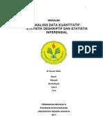 7 Analisis Data Kuantitatif Deskriptif & Inferensial Klp 7