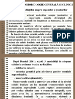 Notiuni de Radiobiologie Generala
