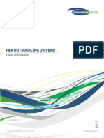 The WNS-Outsourcing Center Survey- FAO Outsourcing Drivers