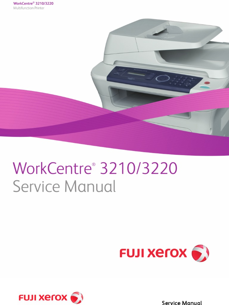 xerox workcentre 3210 инструкция