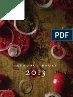 Murdoch Books 2013 Catalogue