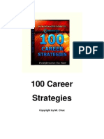 100 Career Strategies
