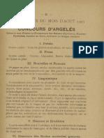 Reclams de Biarn e Gascounhe. -  Heurè 1903 - N°2 (7eme Anade)