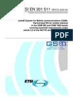 EN 301 511 ver 9.0.2 (GSM_R&TTE)