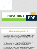 Hepatitis E