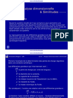 Ch 6 Analyse Dimensionnelle Et Similitudes