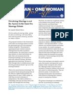 Privatizing Marriage