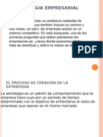 4. La Estrategia Empresarial