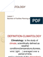 (2) Introduction to Climatology -Lesson 1