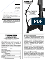 Tippmann Pro Carbine Manual