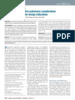 Common Postoperative Pulmonary Complications