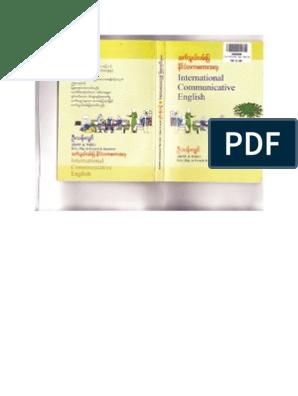 U Than Lwin- International Communicative English