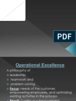 Lean and Six Sigma Operationsf