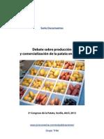 Debate sobre producción y comercialización de la patata en España