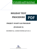 94123040 Holiday Test Procedure
