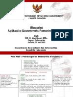 Paparan Blueprint Aplikasi E-Gov Pemda - DepTel