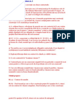 Seminar Drept Civil Contracte