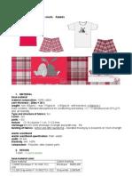 I074 Ladies Pajama - Rabbit