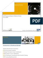 Getting Started With SAP BusinessObjects Dashboard Builder