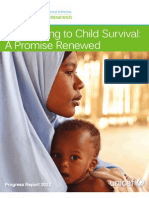 Committing to Child Survival a Promise Renewed