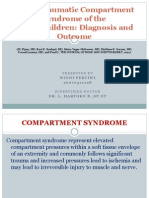 Acute Traumatic Compartment Syndrome of The