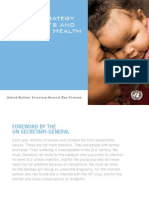 Global Strategy for Womens and Childrens Health 2010