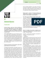 Journal of Osseointegration Intervista Presidente SICOI Antonio Barone Marzo 2013