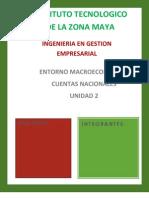 Cuentas Nacionales. Unidad 2