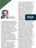 Redazionale DoctorOS Febbraio 2013 Antonio Barone Presidente SICOI