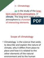 Elements Climatology Lesson 2