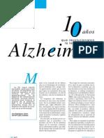 10 Años Que Revolucionaron La Terapeutica Del Alzheimer