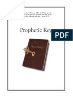 Prophetic Keys Manual