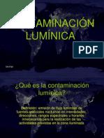 CONTAMINACIÓN LUMÍNICA.ppt