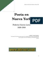García Lorca Federico-Poeta en Nueva York