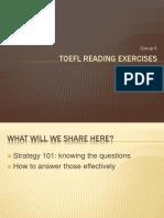 TOEFL Reading Exercises