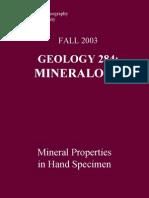 Geology 284