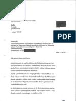Briefwechsel BMU Greenpeace