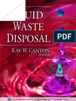 Fluid Waste Disposal Environmental Science Engineering and Technology