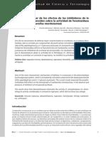 Estudio preliminar de los efectos de los inhibidores de la sintesis de eicosanoides sobre la actividad de fenoloxidasa del acocil (Cambarellus montezumae)Vinnitsa Buzoianu, Mónika Garrido, Marisela Villalobos, Itsel Alva Antonio García, Fernando García y Fidel Hernández