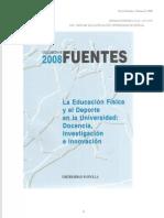 Revista Fuentes, 8, 2008 Varios artículos interesantes